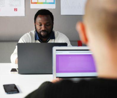 mac, computer, laptop, working