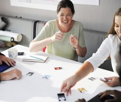 People Looking Choosing at Colleagues Photo