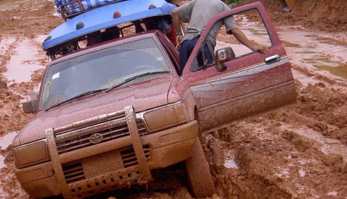 Car-in-Mud
